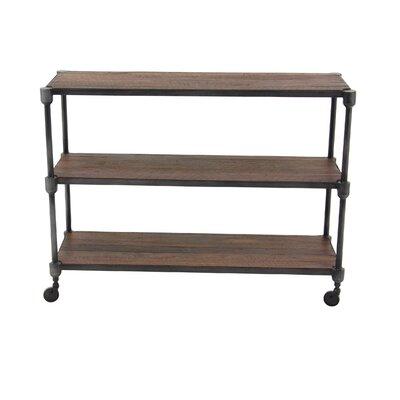 Gatti Rustic 3-Tiered Shelf Console Table