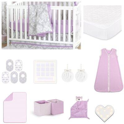 Damsel Essentials 18 Piece Crib Bedding Set