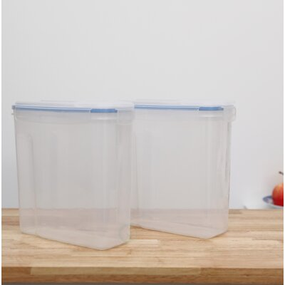 Large BPA-Free Plastic Cereal Bulk Food Storage Container with Airtight Spout Lid