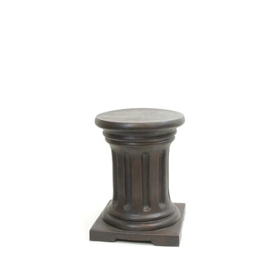 Milesburg Pedestal Plant Stand Finish: Dark Brown