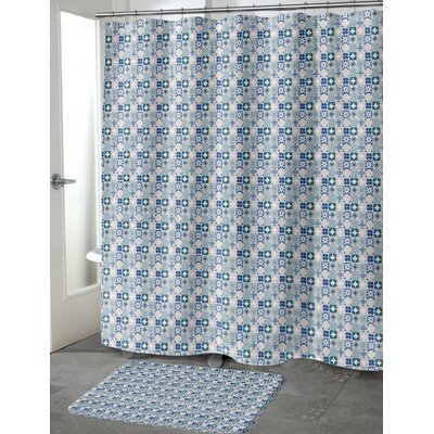 """Ayling Shower Curtain Size: 70"""" H x 72"""" W"""