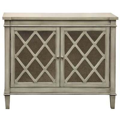 Exeter 2 Door Mirrored Front Console Table