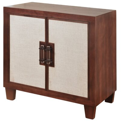 Balthrop Linen 2 Door Accent Cabinet