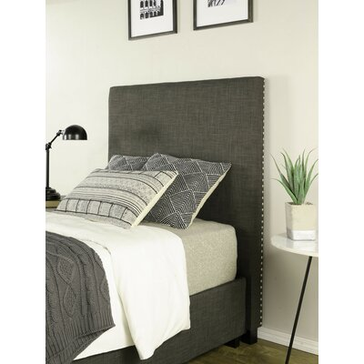 Ariane Twin Platform Bed Fabric Color: Gray, Number of Drawer: 2 Drawer