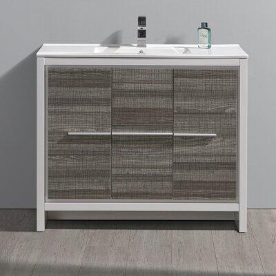 "Trieste Allier Rio 39"" Single Bathroom Vanity Set"
