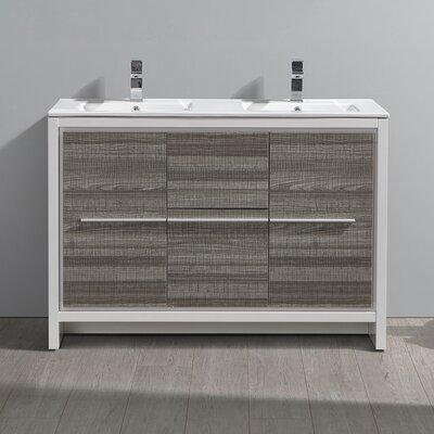 "Trieste Allier Rio 47"" Double Bathroom Vanity Set"