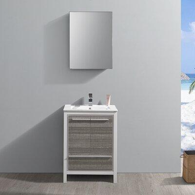 "Trieste Allier Rio 24"" Single Bathroom Vanity Set"