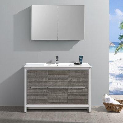 "Trieste Allier Rio 48"" Single Bathroom Vanity Set"