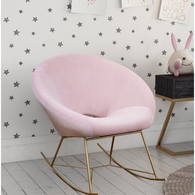 Ronan Rocking Chair Fabric: Blush