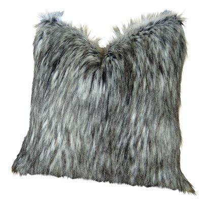 "Wagaman Siberian Husky Faux Fur Pillow Size: 24"" x 24"", Fill Material: H-allrgnc Polyfill"