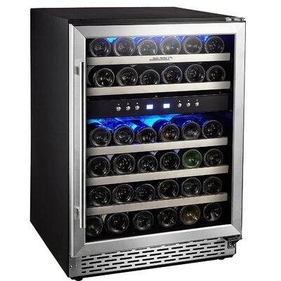 46 Bottle Dual Zone Built-in Wine Cooler