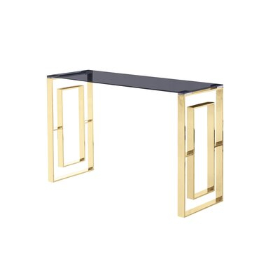 Console Table Table Base Color: Gold