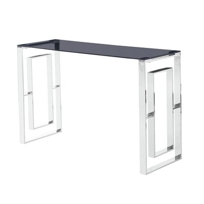 Console Table Table Base Color: Silver