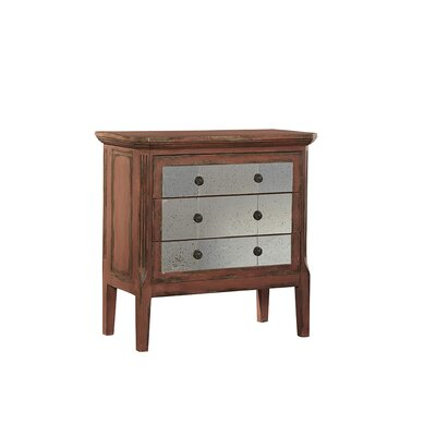 Jenison 3 Drawer Accent Chest