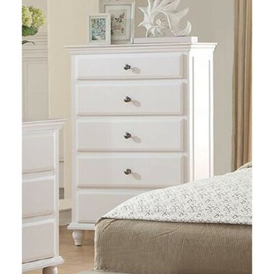 Eubank 5 Drawer Accent Chest