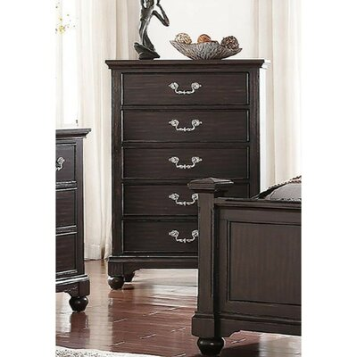 Etting 5 Drawer Accent Chest