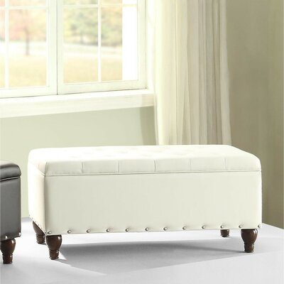 Rozell Upholstered Storage Bench