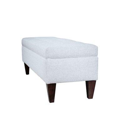 Woodside Upholstered Storage Bench Upholstery: Pebble