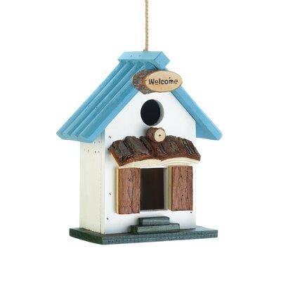 Rooftop 8.5 in x 8 in x 4 in Birdhouse