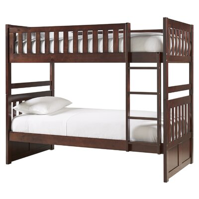 Castagna Bunk Bed Frame Color: Cherry, Size: Full