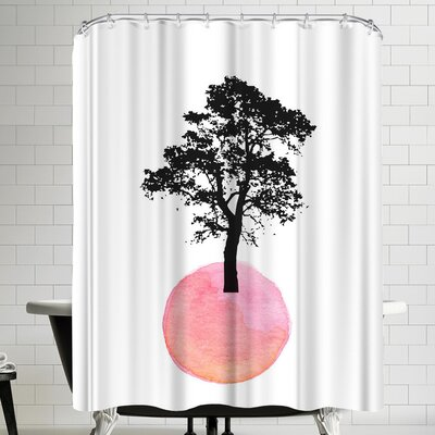 Ikonolexi Tree Shower Curtain