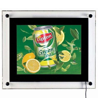 "Acryled for Wall Mounting Size: 15.47"" H x 12.95"" W"