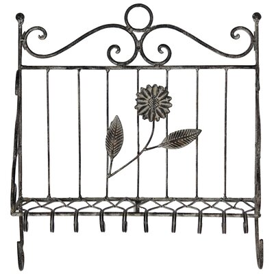 Heberling Metal Wall Mounted Coat Rack