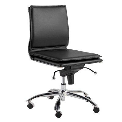 Tulsa Pro Office Chair Color: Black