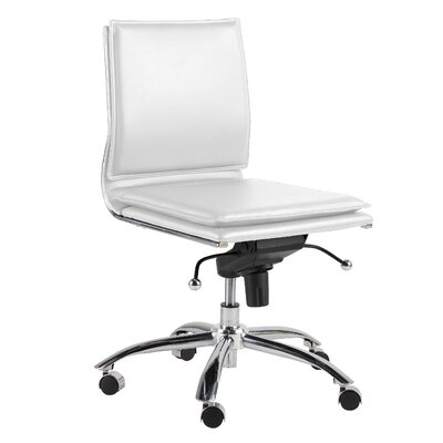 Tulsa Pro Office Chair Color: White
