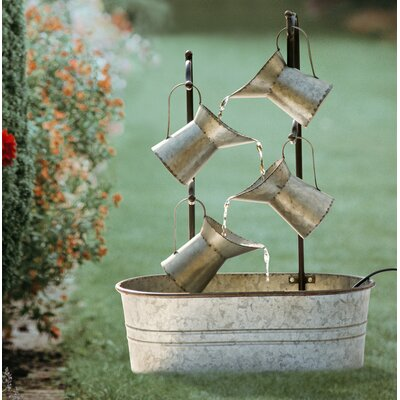 Pieper Wood Electric Fountain