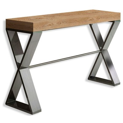 """Saybrook Console Table Size: 31.5"""" H x 31.5"""" W x 15.6"""" D"""