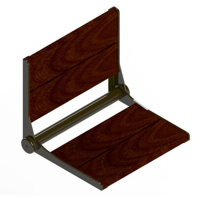 """Serena Seat Shower Chair Size: 18"""" H x 15.75"""" W x 15.5"""" D, Finish: Oil Rubbed Bronze"""
