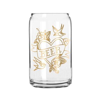 Hesse Beer 16 Oz. Pint Glass