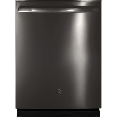 "24"" 45 dBA Built-In Dishwasher with 3rd Rack and Hidden Controls Finish: Black Stainless"