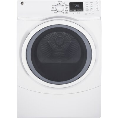 7.5 cu. ft. Gas Dryer with Steam Finish: Diamond Gray