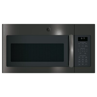 """30"""" 1.7 cu. ft. Over-the-Range Microwave Finish: Black Stainless Steel"""