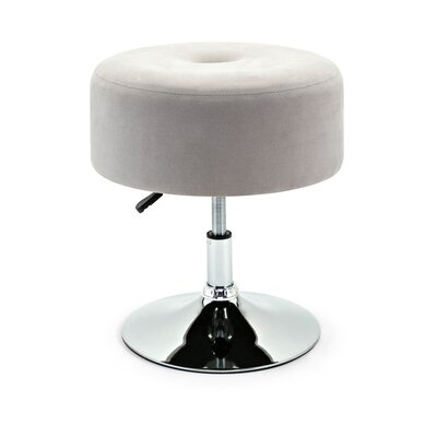 Gailey Accent Stool Seat Color: Gray