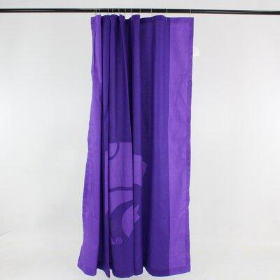 NCAA Cotton Shower Curtain NCAA: Kansas State Wildcats