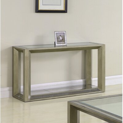 Laury Glass Console Table