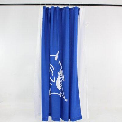 NCAA Cotton Shower Curtain NCAA: Duke Blue Devils