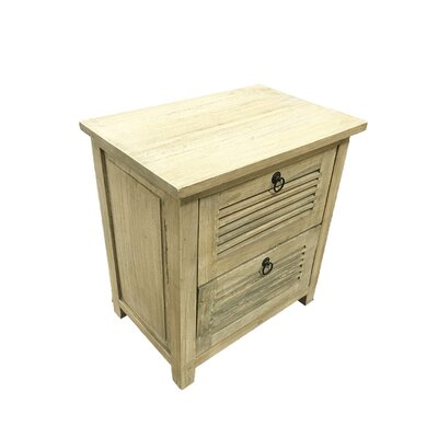 Jardine 2 Drawer Accent Chest