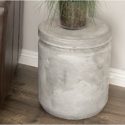 Hitchens Fiberclay Foot Accent Stool Color: Gray