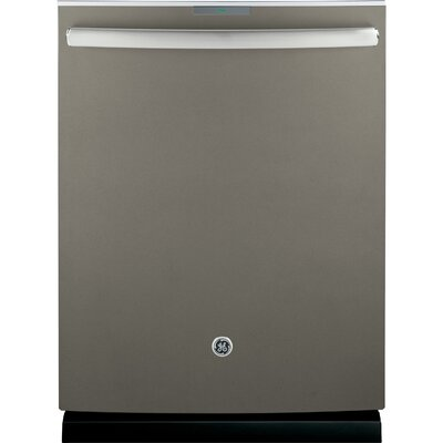 "24"" 42 dBA Built-in Dishwasher with Hidden Controls Finish: Slate"