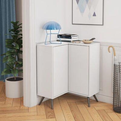 Daleville Accent Cabinet Color: White