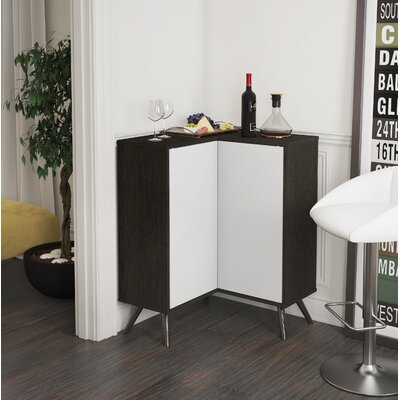 Daleville Accent Cabinet Color: Deep Gray/White