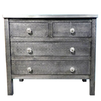 Wolfe Wooden 4 Drawer Accent Chest