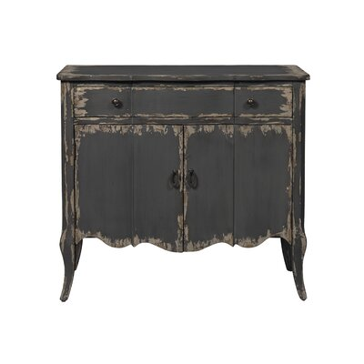 Trout Distressed 2 Door Accent Cabinet