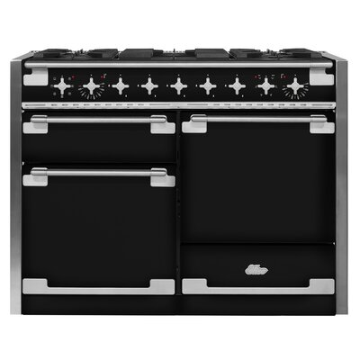 "Elise 48"" Free-Standing Dual Fuel Range Color: Gloss Black"