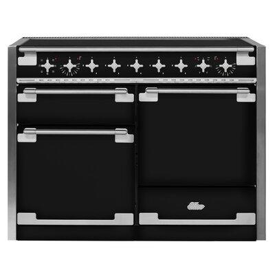 "48"" Elise Free-Standing Electric Range Color: Gloss Black"