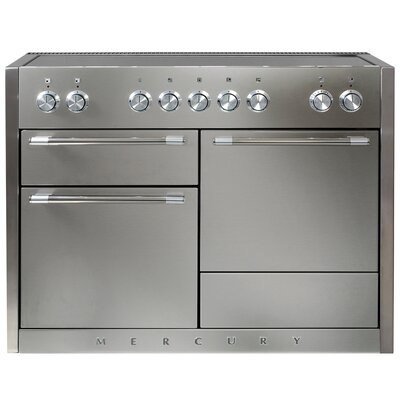 """Mercury 48"""" Free-Standing Electric Range Color: Stainless Steel"""
